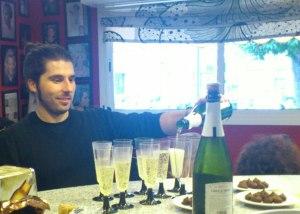 Javier en Lounge