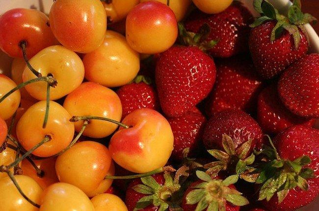 Frutas de primavera cuales son
