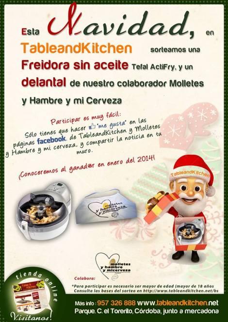 Sorteo Navidad Table & Kitchen