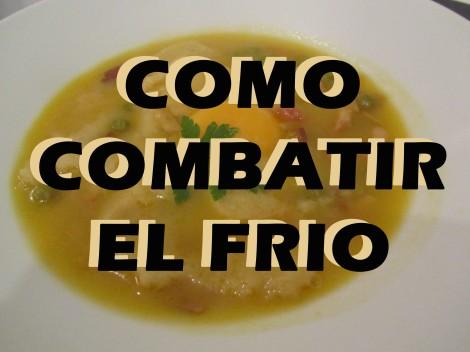 COMO COMBATIR EL FRIO