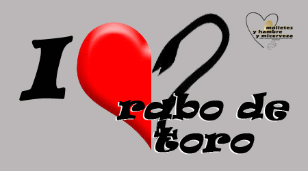 I love rabo de toro copia