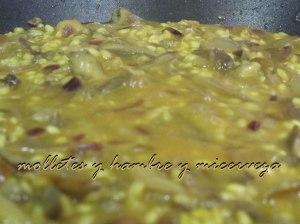 arroz sartén