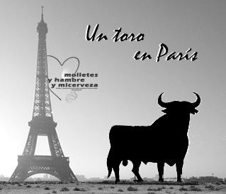 un toro en paris