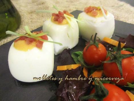 chupitos de huevo
