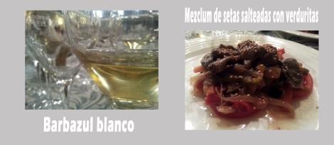 primer vino plato