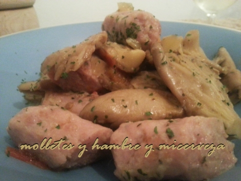 receta curry setas