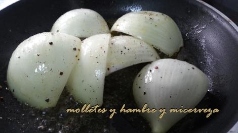 Gajos cebolla