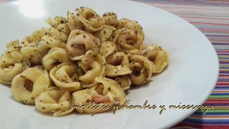 Tortellini de queso