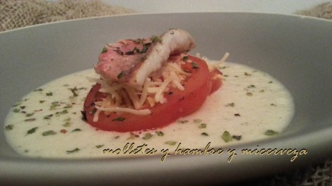 Plato sandwich salmonetes