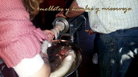 Fabricación de salchichón