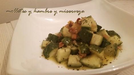 pepino ensalada
