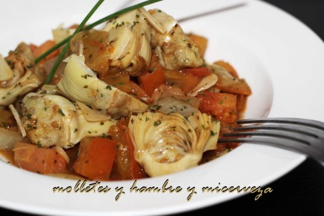 alcachofas con tomate 1