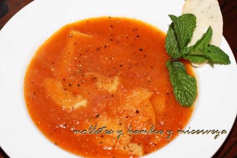 Sopa de tomate 2