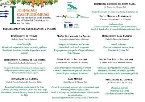 Cartel participantes