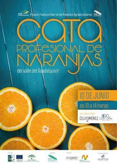 cartel naranjas