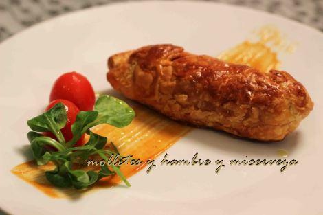 Chorizo hojaldre