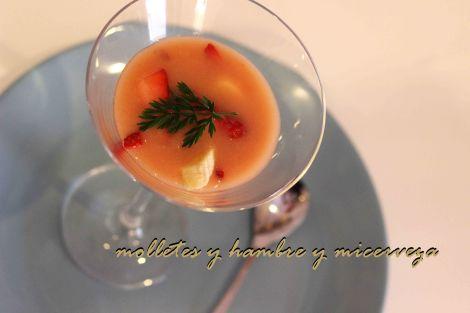gazpacho de fresas 2