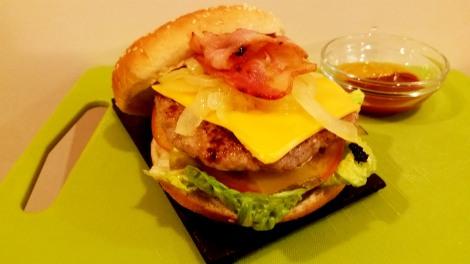 hamburguesa Sergio Leon
