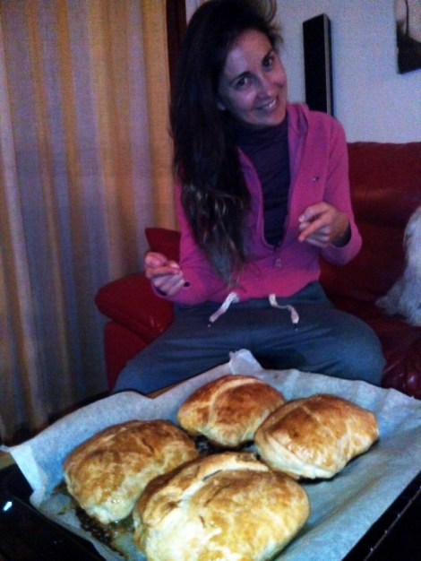Mireia Montavez cocina