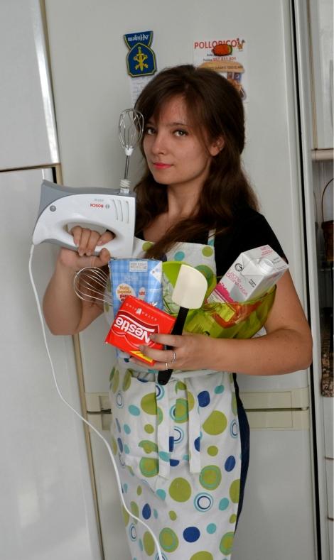 María del Pino cocina