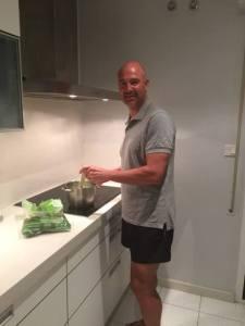 Rafa Berges cocina