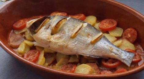 pescado horno kiko veneno