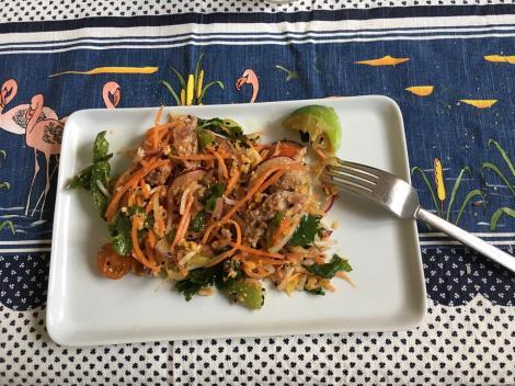 ensalada thai Lorena